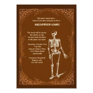 "Invitation to Party Halloween Style 5"" X 7"" Invitation Card"