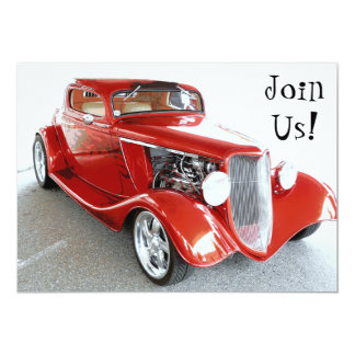 Invitation to Retirement Party, Birthday, Car Show