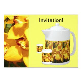INVITATION TO TEA OR COFFEE - FRIENDS & NEIGHBORS