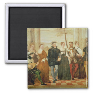 Invitation to the Dance, 1570 Refrigerator Magnets