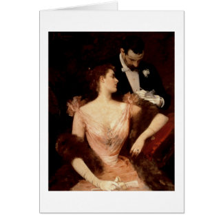 Invitation to the Waltz, 1895 (oil on canvas)