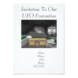 Invitation To UFO Convention