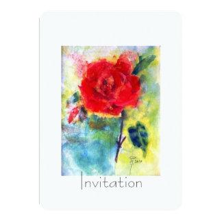 """Invitation """"Transcendental and transient"""" 5"""" X 7"""" Invitation Card"""