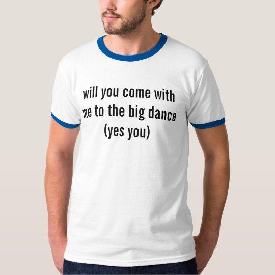 Invitation tshirt