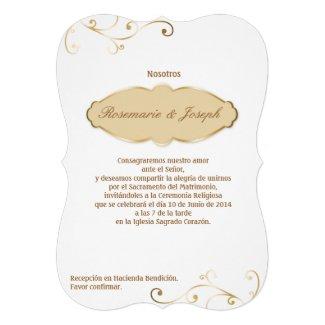 Invitación - Wedding02 Invitación Personalizada