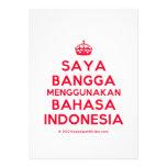 [Crown] saya bangga menggunakan bahasa indonesia  Invitations