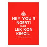 [Crown] hey you !! ngerti gak lek kon kimcil  Invitations