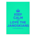 [Crown] keep calm and love the janoskians  Invitations
