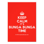 [Crown] keep calm it's bunga bunga time  Invitations