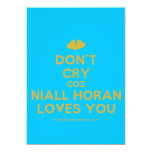 [Two hearts] don't cry coz niall horan loves you  Invitations
