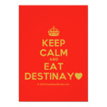 [Crown] keep calm and eat destinay♥  Invitations