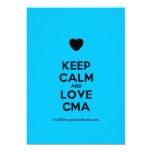 [Love heart] keep calm and love cma  Invitations