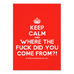 [Crown] keep calm and where the fuck did you come from?!  Invitations