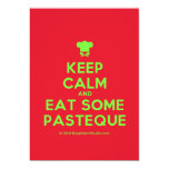 [Chef hat] keep calm and eat some pasteque  Invitations