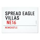 spread eagle  villas   Invitations