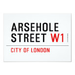 Arsehole Street  Invitations