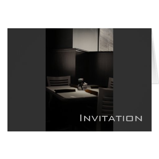 Invitations - by KNairn Cards