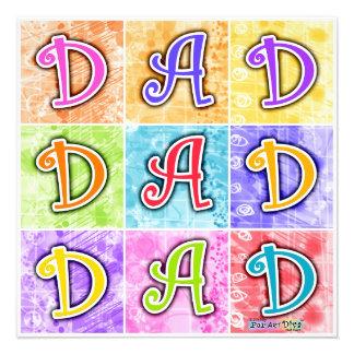 Invitations - DAD Pop Art