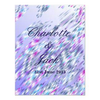 Invitations in pastel shades Signature: Matte