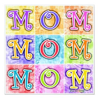 Invitations - MOM Pop Art