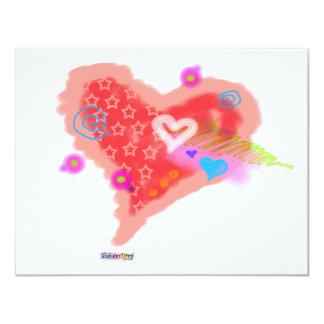 INVITATIONS - One Crazy Heart