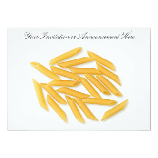 Invitations or Innouncements with Noodles
