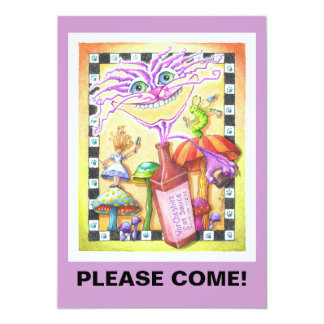 INVITATIONS - The WorCHESHIRE CAT