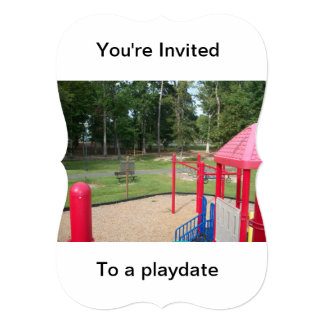 Invitations to birthday parties in the park, ect