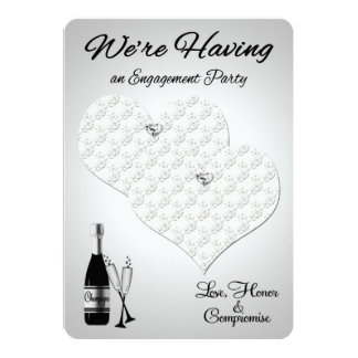 Invitations to Lesbian Engagement Party