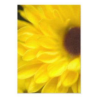 INVITATIONS   YELLOW FLOWER