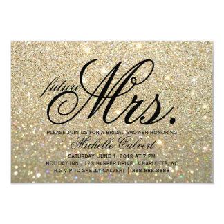 """Invite - a señora futura fabulosa Bridal Shower de Invitación 3.5"""" X 5"""""""