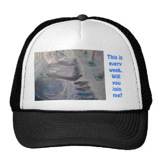 Invite alguien en la escritura gorras