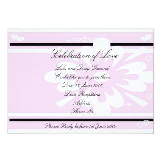 "Invite, Celebration of Love 5"" X 7"" Invitation Card"