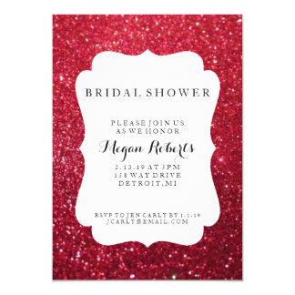 """Invite - día nupcial de la ducha fabuloso - a la invitación 5"""" x 7"""""""