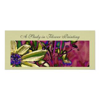 Invite - Flower Painting Class
