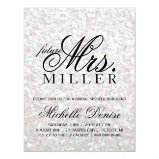 Invite - Glit Fab future Mrs. Iridescent Bridal