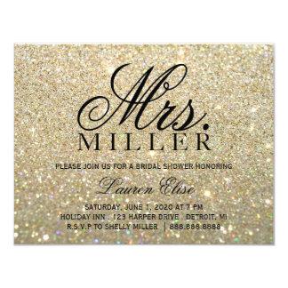 Invite - Gold Glit Fab Mrs. Bridal Shower 2
