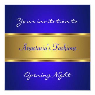 Invite Opening Night Cobalt Blue Gold