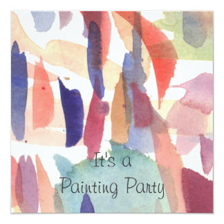Invite - Painting Party Watercolor