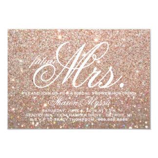 Invite - Rose Gold Bridal Shower future Mrs. W
