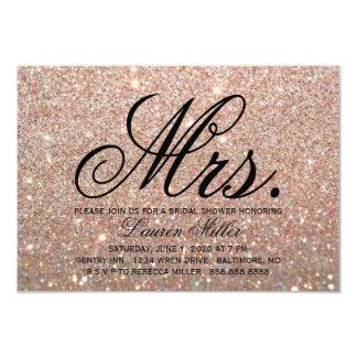 Invite - Rose Gold Fab Mrs. Shower