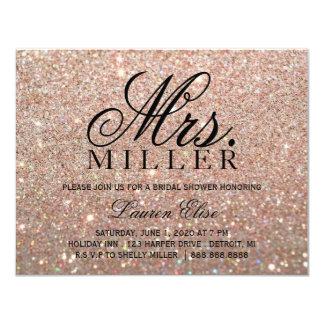 Invite - Rose Gold Glit Fab Mrs. Bridal Shower 2