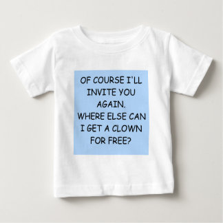 invite the clown baby T-Shirt