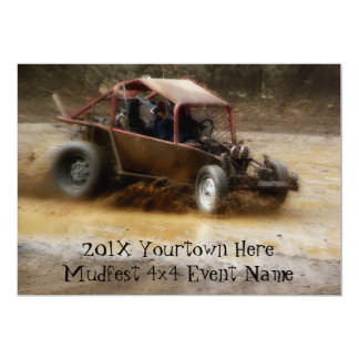 Invite to  Mudfest dirty Dunebuggy 4x4 racing