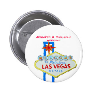 Invited Guest Name Tag Las Vegas Parties Pinback Button