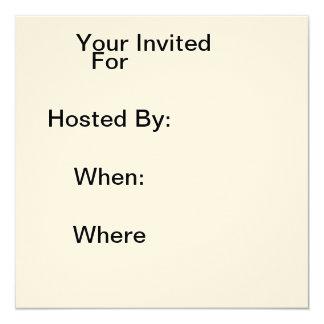 Invites Write in