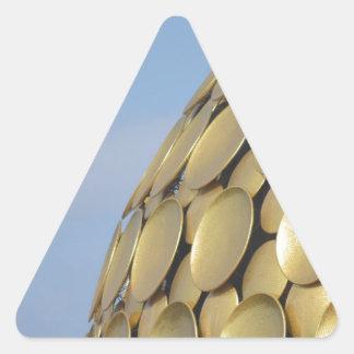 Invocación Pegatina Triangular