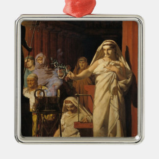 Invocation of Neptune, 1866 Christmas Ornament