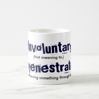 Involuntary Defenestration Magic Mug