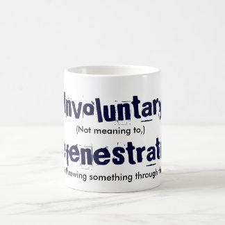 Involuntary Defenestration Magic Mug